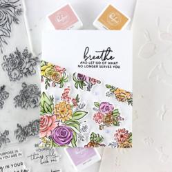 Pinkfresh Studio sapluunasetti Joyful Bouquet