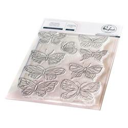 Pinkfresh Studio leimasinsetti Small Butterflies