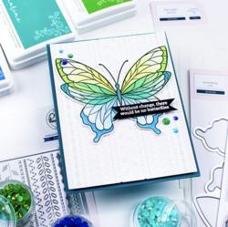 Pinkfresh Studio leimasinsetti Butterflies