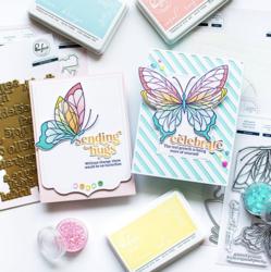 Pinkfresh Studio stanssi Butterflies