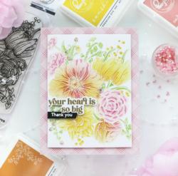 Pinkfresh Studio leimasinsetti Best Of Everything Floral