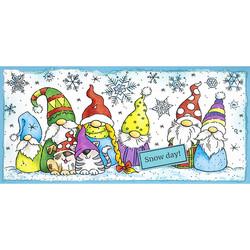 Stampendous Slim Winter Gnomes -leimasin