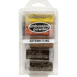 Stampendous kohojauheet Autumn Fling, 5 kpl