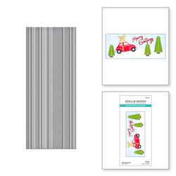 Spellbinders kohokuviointikansio Striped Slimline