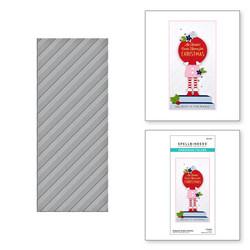 Spellbinders kohokuviointikansio Diagonal Stripes Slimline