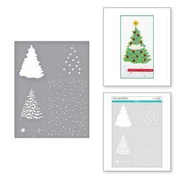 Spellbinders Layered Christmas Tree -sapluuna, A4