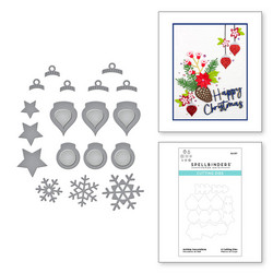Spellbinders stanssisetti Holiday Decorations