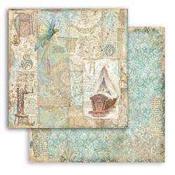 Stamperia Sleeping Beauty skräppipaperi Cradle