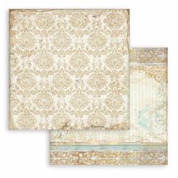 Stamperia Sleeping Beauty skräppipaperi Texture Gold