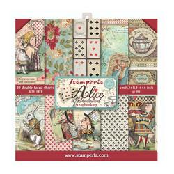 Stamperia paperipakkaus Alice in Wonderland, 6