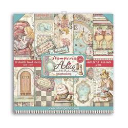 Stamperia paperipakkaus Alice Through the Looking Glass, 6