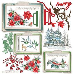 49 and Market paperipakkaus Vintage Artistry Peace & Joy, 12