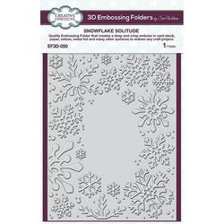 Creative Expressions 3D kohokuviointikansio Snowflake Solitude