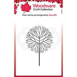 Woodware leimasin Mini Round Twiggy Tree