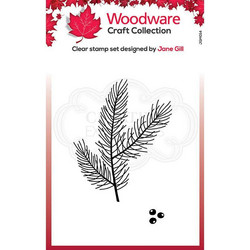 Woodware leimasin Mini Pine Branch