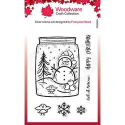 Woodware leimasin Snow Jar