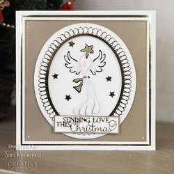 Creative Expressions stanssi Christmas Angel 2021
