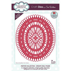 Creative Expressions stanssi Ornate Oval Frame