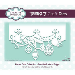 Creative Expressions stanssi Bauble Garland Edger