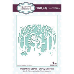 Creative Expressions stanssi Snowy Embrace