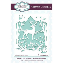 Creative Expressions stanssi Winter Woodland