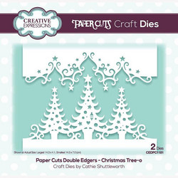 Creative Expressions stanssi Christmas Tree-o Double Edger