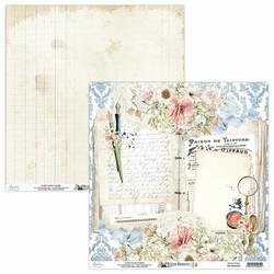 Mintay skräppipaperi Written Memories 03