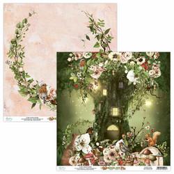 Mintay skräppipaperi Woodland 02