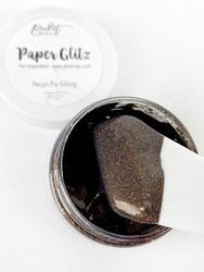 Picket Fence Paper Glitz, sävy Pecan Pie Filling