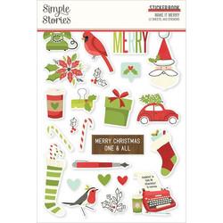 Simple Stories tarrakirja Make It Merry