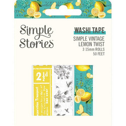 Simple Stories Simple Vintage Lemon Twist washiteipit