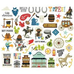 Simple Stories Howdy! Bits & Pieces, leikekuvat