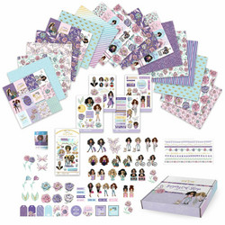 Paper House Craft Kit - Sugary Gal Collection -askartelusetti