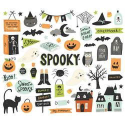 Simple Stories Spooky Nights Bits & Pieces, leikekuvat