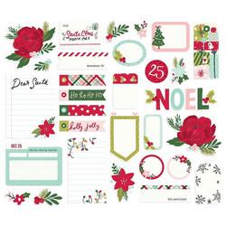 Simple Stories Holly Days Journal Bits, leikekuvat