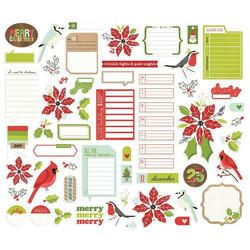 Simple Stories Make It Merry Journal Bits, leikekuvat