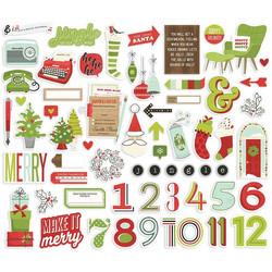 Simple Stories Make It Merry Bits & Pieces, leikekuvat