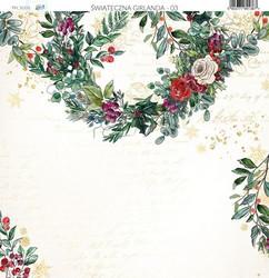 Paper Heaven skräppipaperi Christmas Garland 03