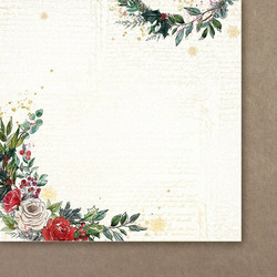 Paper Heaven skräppipaperi Christmas Garland 06