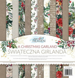 Paper Heaven paperipakkaus Christmas Garland, 12