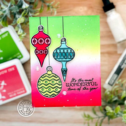 Hero Arts Holiday Ornaments -leimasinsetti