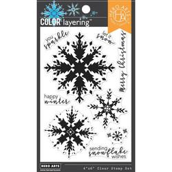Hero Arts Color Layering Snowflake -leimasinsetti