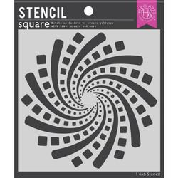 Hero Arts sapluuna Geometric Spiral
