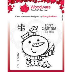 Woodware leimasin Little Snowman