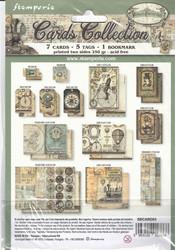 Stamperia Cards Collection -leikekuvat Voyages Fantastiques