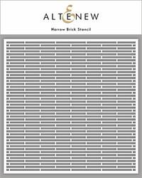 Altenew Narrow Brick -sapluuna