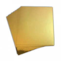 Heartfelt Creations Luxe Metallic Cardstock -peilikartonki, sävy Gold