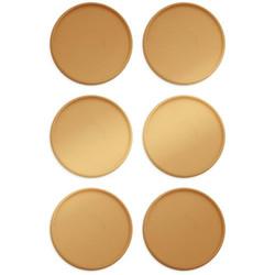 Crop-A-Dile Power Punch Planner Discs -renkaat, sävy Gold