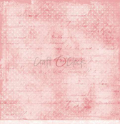 Craft O'clock skräppipaperi Pink Mood 01