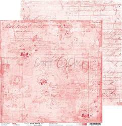 Craft O'clock skräppipaperi Pink Mood 02